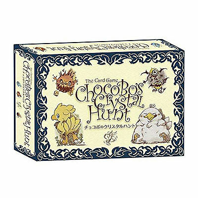 Final Fantasy Chocobo's Crystal Hunt The Card Game NEW Party Game