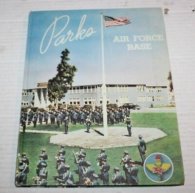 US Air Force - Parks Air Force Base California Yearbook Copyright 1955