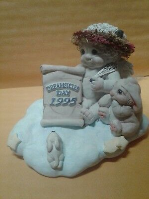 Dreamsicles Dreamsicle Days 1995 Event Figurine DC075  Bunnies Rabbit