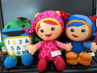 TEAM UMIZOOMI Bot MILLI Geo Plush Doll new Equipo Umizoomi  Set of 3