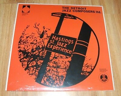 The Hastings Street Jazz Experience ‎– Detroit Jazz Composers Ltd. LP Vinyl NEU