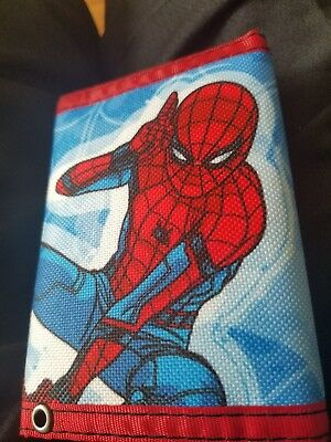 Bi fold Spiderman wallet cheap got it from gamestop but my kid wanted an ironman