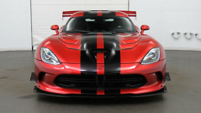 2016 Dodge Viper 2dr Coupe ACR 2016 Dodge Viper - Low Miles, 1 Owner, Local AZ Car, Stunning Stryker Orange