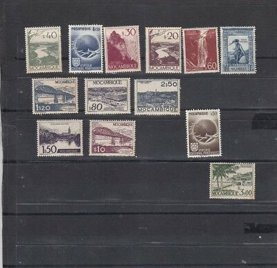 Dec124 PORTUGAL MOZAMBIQUE MNH SELECTION