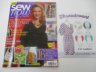 Sew Now Magazine Issue 2 - Includes Sewing Pattern
