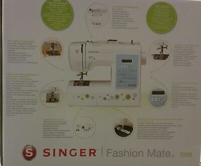 Singer Fashion Mate 7256 Nähmaschine Computernähmaschine