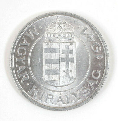 1941 Hungary Two 2 Pengo Coin