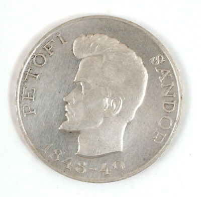 1948 Hungary Five 5 Forint Silver Coin