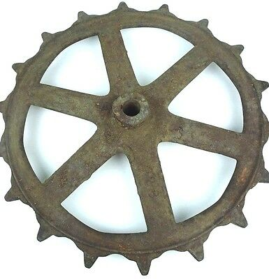 Antique Farm House Tractor Gear Architectural Salvage Steampunk Industrial Cog