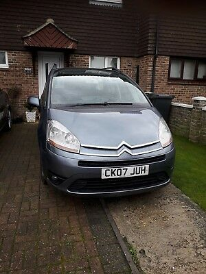 2007 Citroen C4 Picasso 7 seaterVTR+HDI, Grey, 1.6 Diesel manual