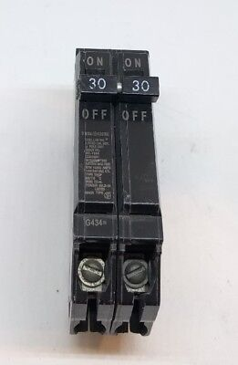 GE Double Pole 30 Amp Breaker THQP230