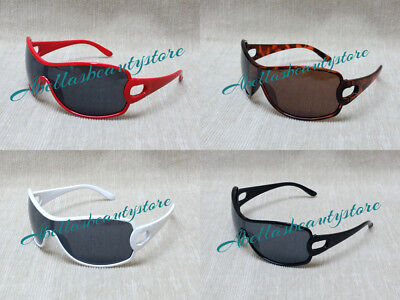 Kids Boy or Girl Fashion Sunglasses-Black, Red, Turtle Shell and White
