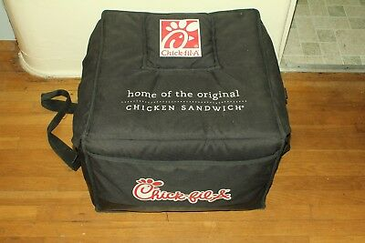 Chick-fil-A Insulated Catering Food Delivery Bag 22x20x14 w/Heating Pack + Tray