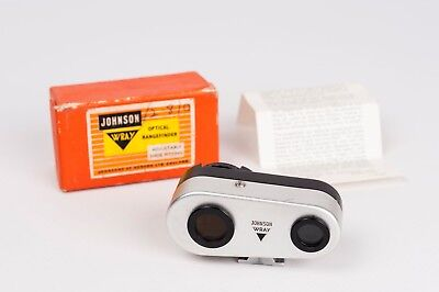 Johnson Wray camera optical rangefinder-in feets -