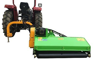 "Ditch Flail Mower (Embankment) 49"", BCRL-49A from Victory Tractor Implements"