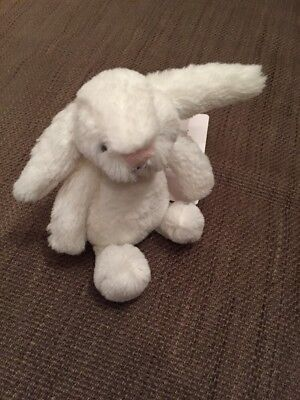 The White Company Mini White Bashful Bunny
