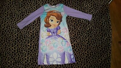 Girl's Licensed Character Flannel Sleeping Gown Size 5T