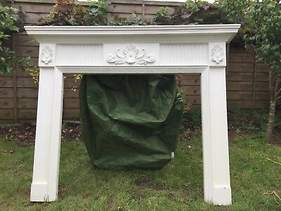 Reproduction antique fire surround - realistic looking