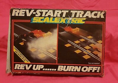Scalextric Rev-Start Track 1980 Aus Seller