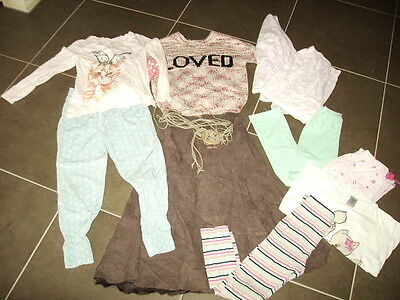 Bundle Of Girls Clothes - Size 6 - 7 - Cotton On, Target Etc (8 Items)