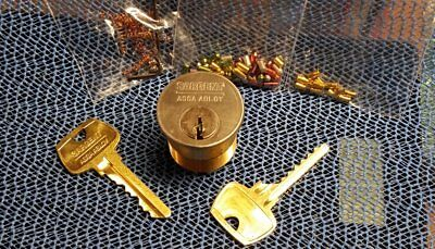 Sargent 6 pin Challenge lock - with extras - CHRISTMAS SPECIAL!!!!