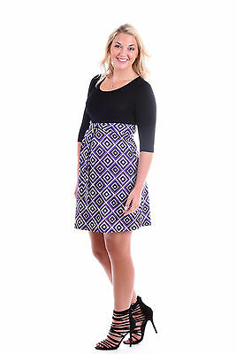 Soft Knitted front tie Maternity dress S,M,L,XL  free shipping