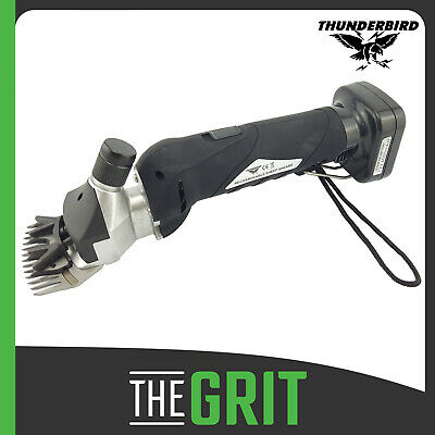 Thunderbird 12v Rechargeable Cordless Clippers Sheep Shearing Handpiece Shears