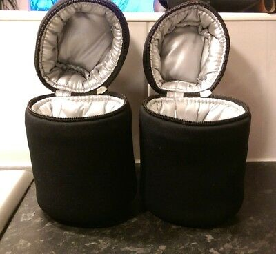 2 x tommy tippee insulated bottle bags