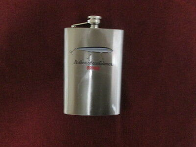 Rapala Whiskey Flask 8oz Stainless Steel