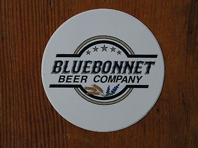 Blue Bonnet Beer Co. Sticker! ~NEW Craft Brewing Co. Brewery Logo Decal~ Ale IPA