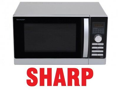 Sharp 800W Midsize Double 1700W Grill 2300W Convection 800W Microwave R80A0S