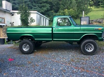 1971 Ford F-100  1970 ford f 100