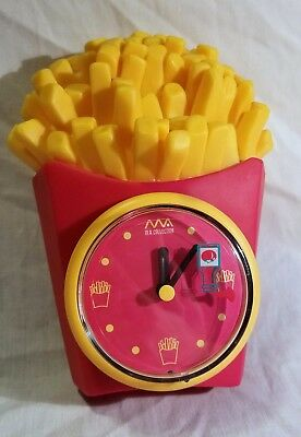 French Fry Clock with Ketchup Bottle second hand - M.A. Collection (McDonalds)