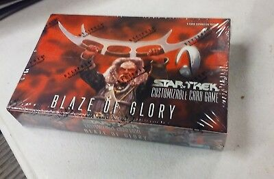 Star Wars CCG Ltd Ed BLAZE OF GLORY Booster Box Factory Sealed FREE U.S.SHIPPING