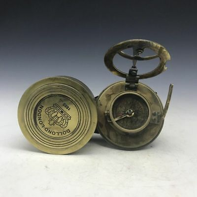 China's ancient pure copper compass makes delicate and intricate craft
