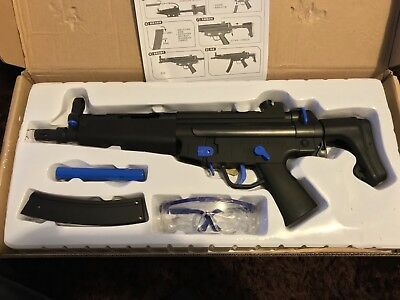 Mp5 Gel Ball Blaster Plastic Toy Mag Fed Electric  Auto