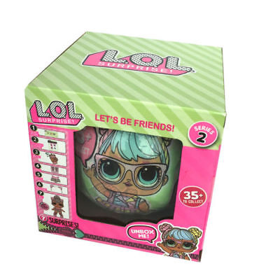 1pcs LOL Outrageous 7 Layers Surprise Ball Doll Blind Mystery Toys#01
