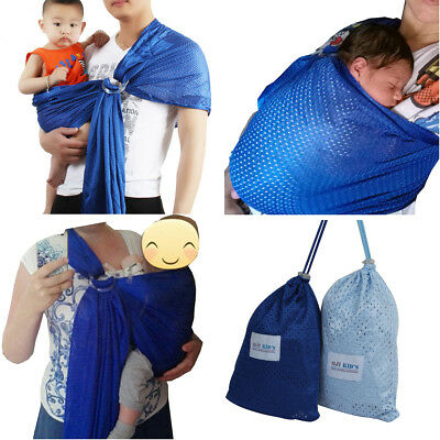 Popular Adjustable Backpack Baby Sling Carrier Kids Sling Toddler Wrap Rider NEW