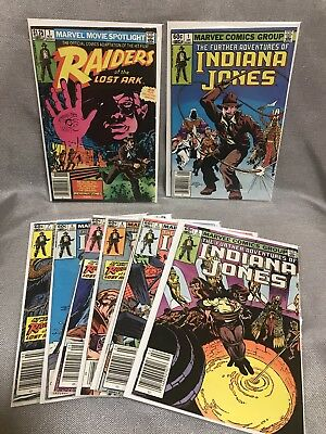 Indiana Jones 1-7 Raiders Of The Lost Ark #1 Comics Collection