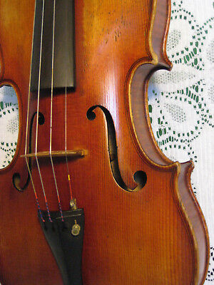 Gorgeous Old Stradivarius Copy Violin For V.A Hoyt 4/4 w/Bow in Case NR!!!