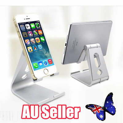 Universal Folding ABS Tablet Mount Holder Stand For iPad iPhone Samsung BK