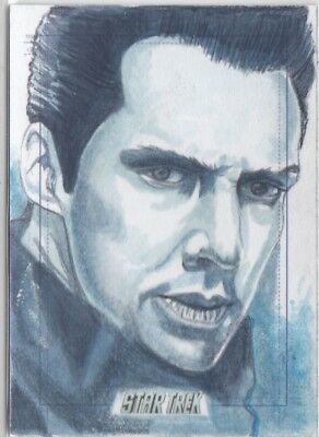 Star Trek Beyond Movie - Marcia Dye (Khan) Sketch Card