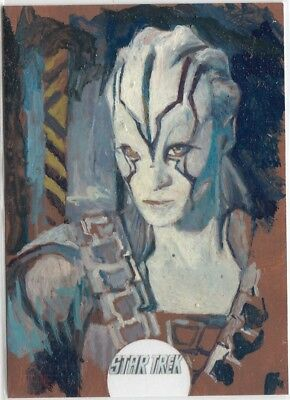 Star Trek Beyond Movie - Charles Hall (Jaylah) Sketch Card