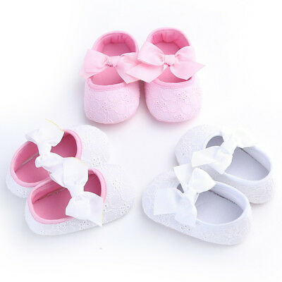 Spring Girl Baby Shoes New Walker Bow Infant Soft Sole Toddler Prewalker Crib
