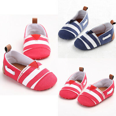 Shoes Newborn Anti-Slip Soft Sole Prewalker Crib Sneaker Baby Girls Casual
