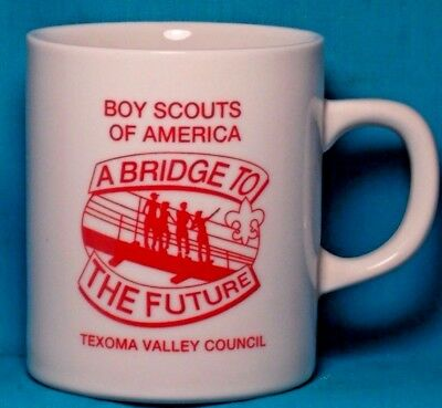 BOY SCOUTS A Bridge to the Future Texoma Valley Council COFFEE CUP / MUG