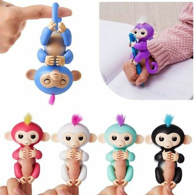 AU SELLER Baby Monkey Electronic Interactive Finger Pet Toy Xmas Gifts