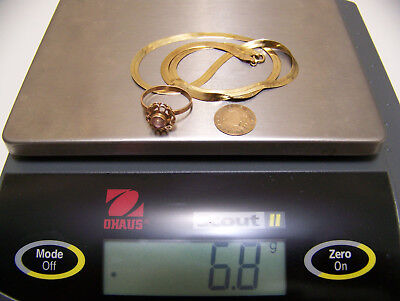 Lot of 14K Solid Gold Jewelry Usable or Scrap 6.8 grams  -