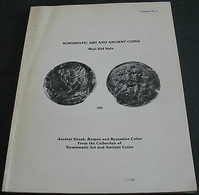 Numismatic Art And Ancient Coins Catalogue #1 Greek Roman Byzantine