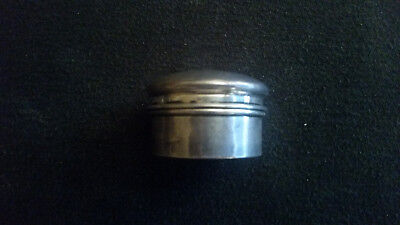 Henry Perkins & Sons Sterling Snuff/Pill Box C1918, Birmingham
